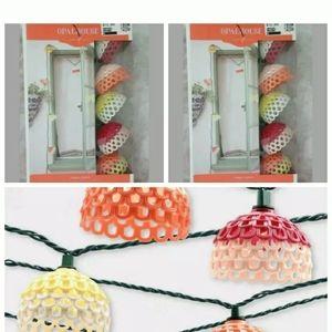 2 pks Opalhouse festive hood fiesta string lights